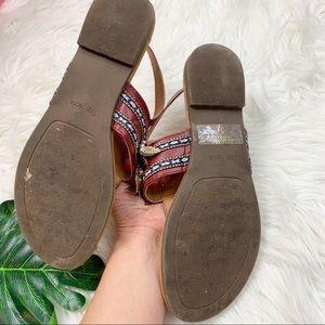 TOP Moda Shoes - Top Moda Ankle Slingback Boho Tstrap Sandals Shoes
